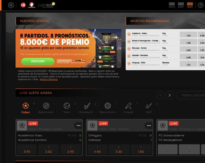 888Sport Casa de Apuestas Online
