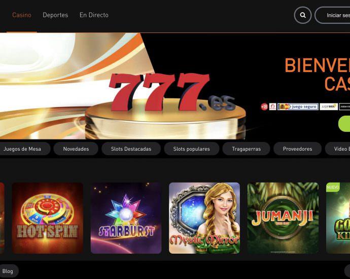 Casino777 Online Website
