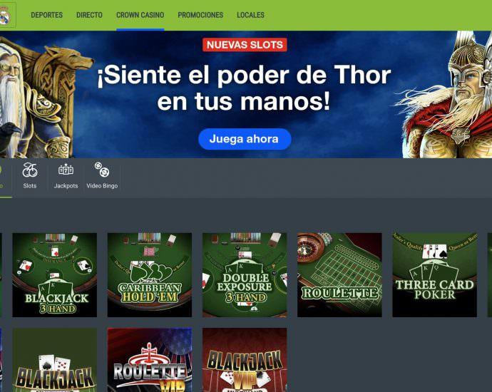 Codere Casino Website
