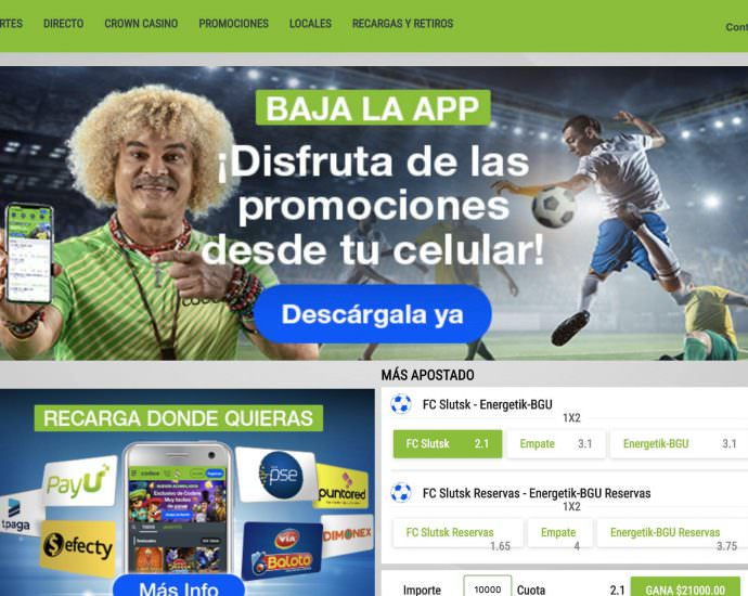 Codere Homepage Site