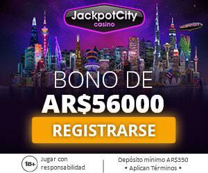 JackpotCity Casino Argentina Bono Bienvenida