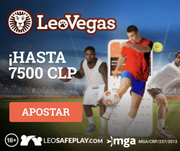 LeoVegas Deportes clp Bono Bienvenida