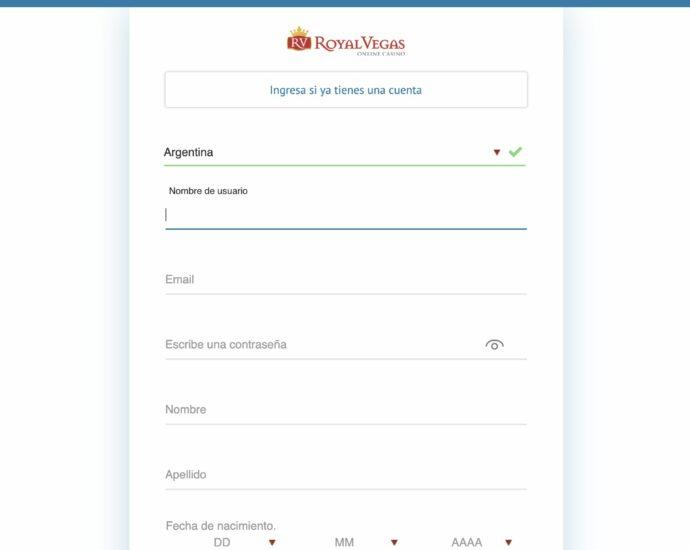 Royal Panda Registro Online