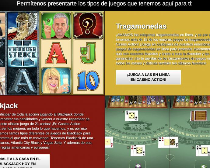 Casino Action Online Games