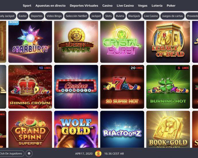 NetBet Casino Slot Games Latam