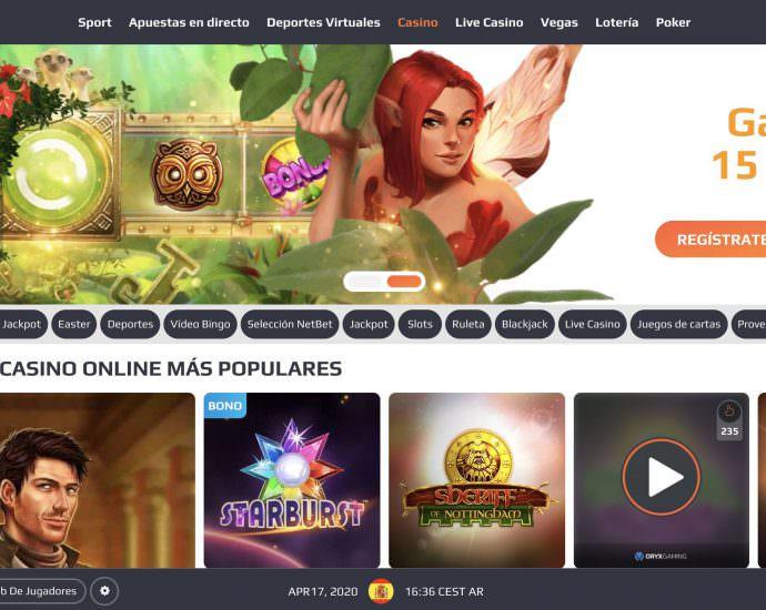 NetBet Casino Website Latam
