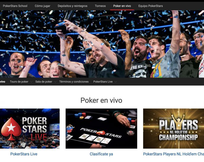 PokerStars Poker En Vivo Argentina