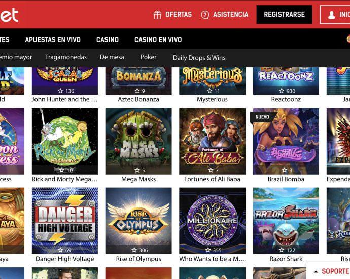 Redbet Casino Video Slots