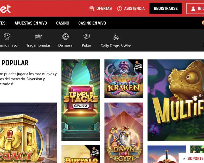Redbet Casino Website Online