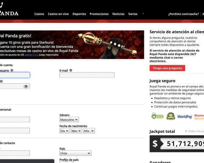 Royal Panda Login Online