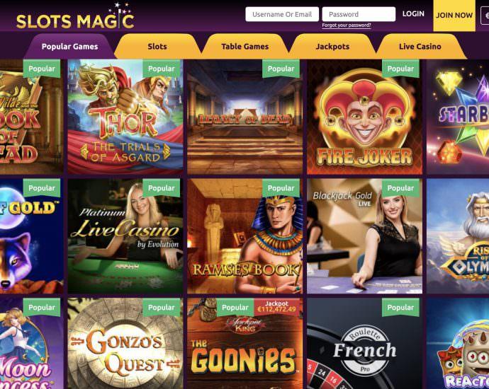 Slots Magic Casino Video Slots