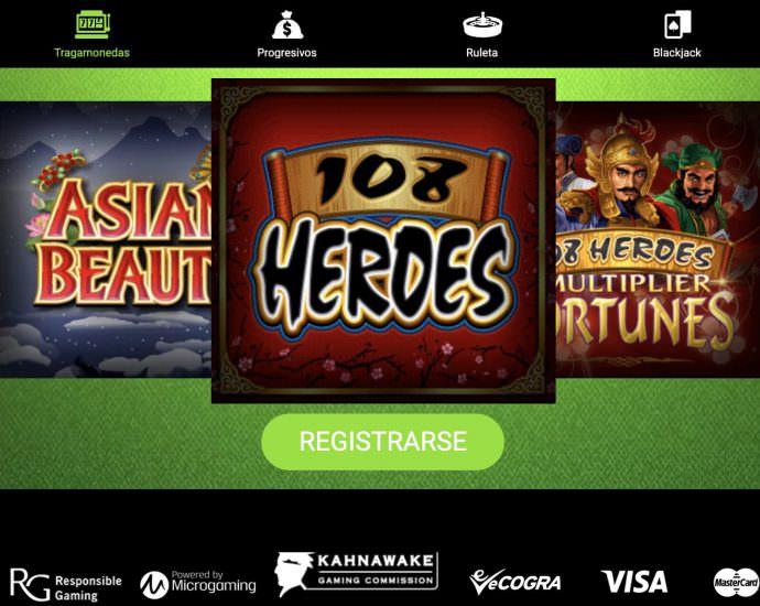 Gaming Club Casino Tragamonedas