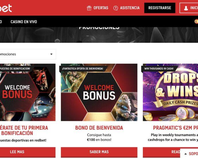 Redbet Promociones Online