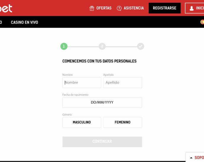 Redbet Registrarse Online