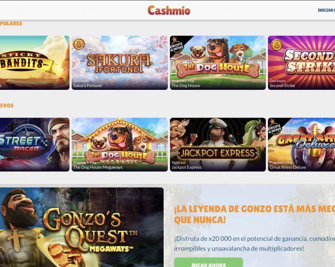 Cashmio Website