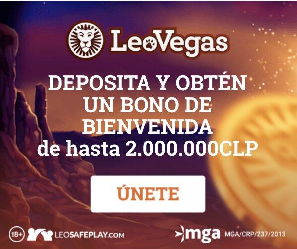 LeoVegas Casino Chile Welcome Bonus