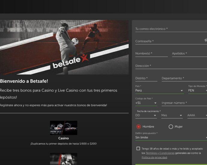 Betsafe Registrarse Online