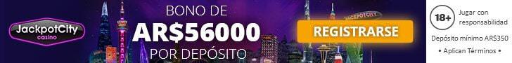 JackpotCity Casino Argentina Nuevo Jugador