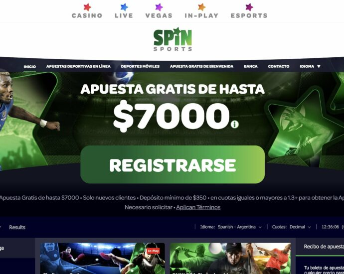 Spin Sports Online Apuestas