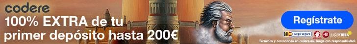 Codere Casino es Bono Bienvenida