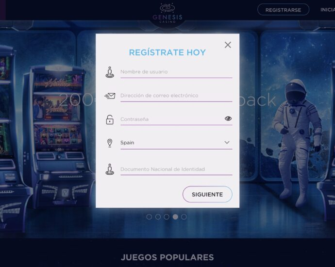Genesis Casino Registro Online