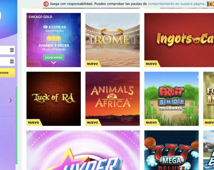 PlayUzu Casino Games