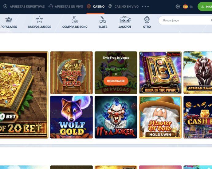 20Bet Casino site