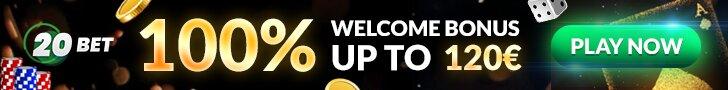 20bet casino bienvenida