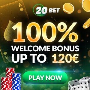 20bet casino bono